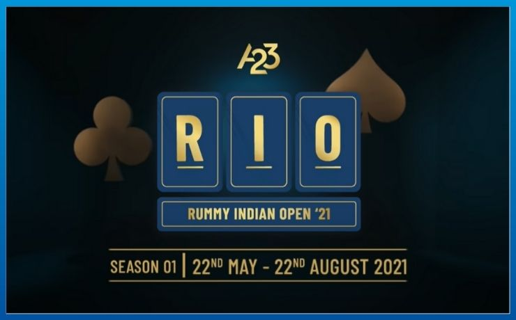 India's largest online rummy tournament 'A23 RIO 2021' to begin on May 22