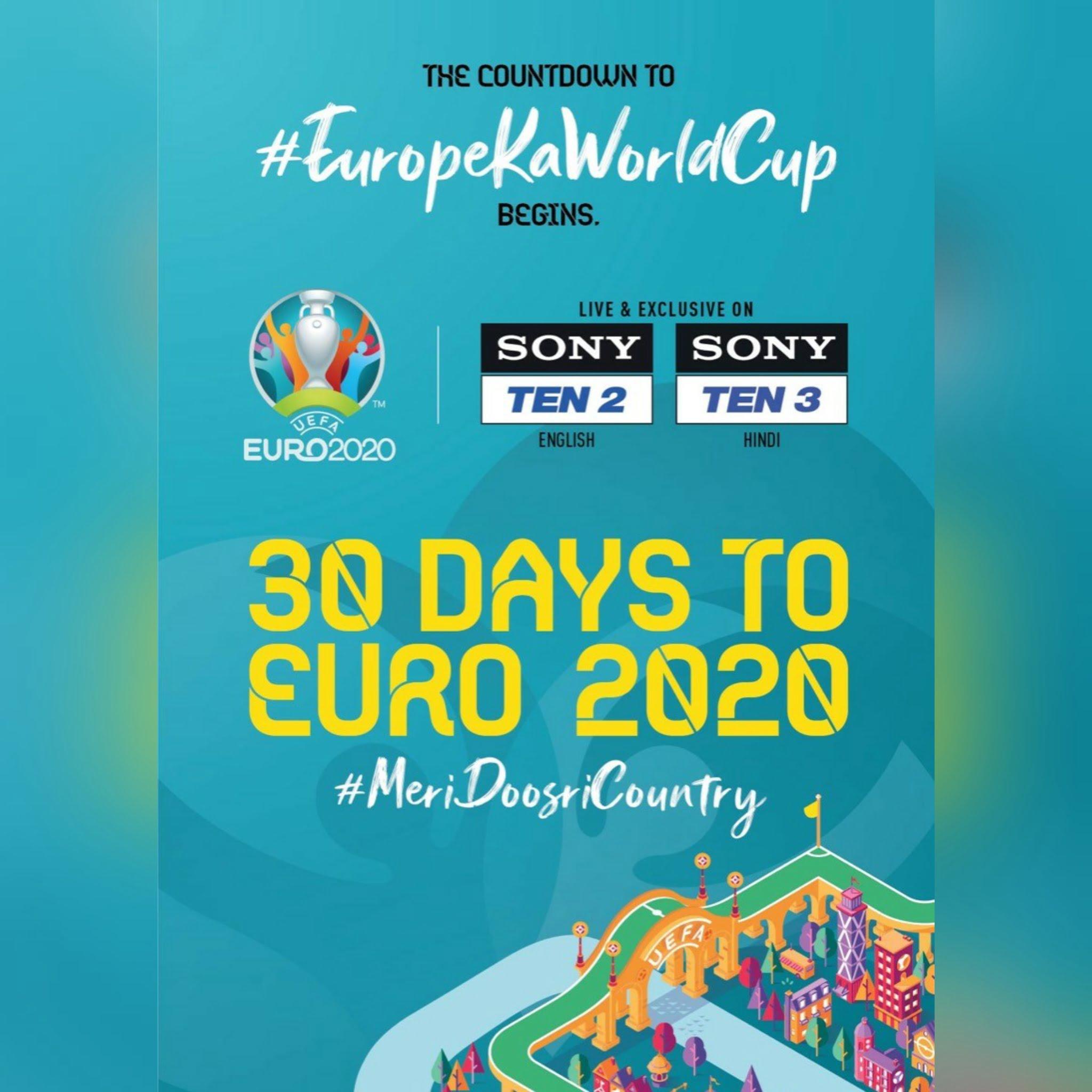 Sony Sports Network all set to live broadcast UEFA Euro 2020