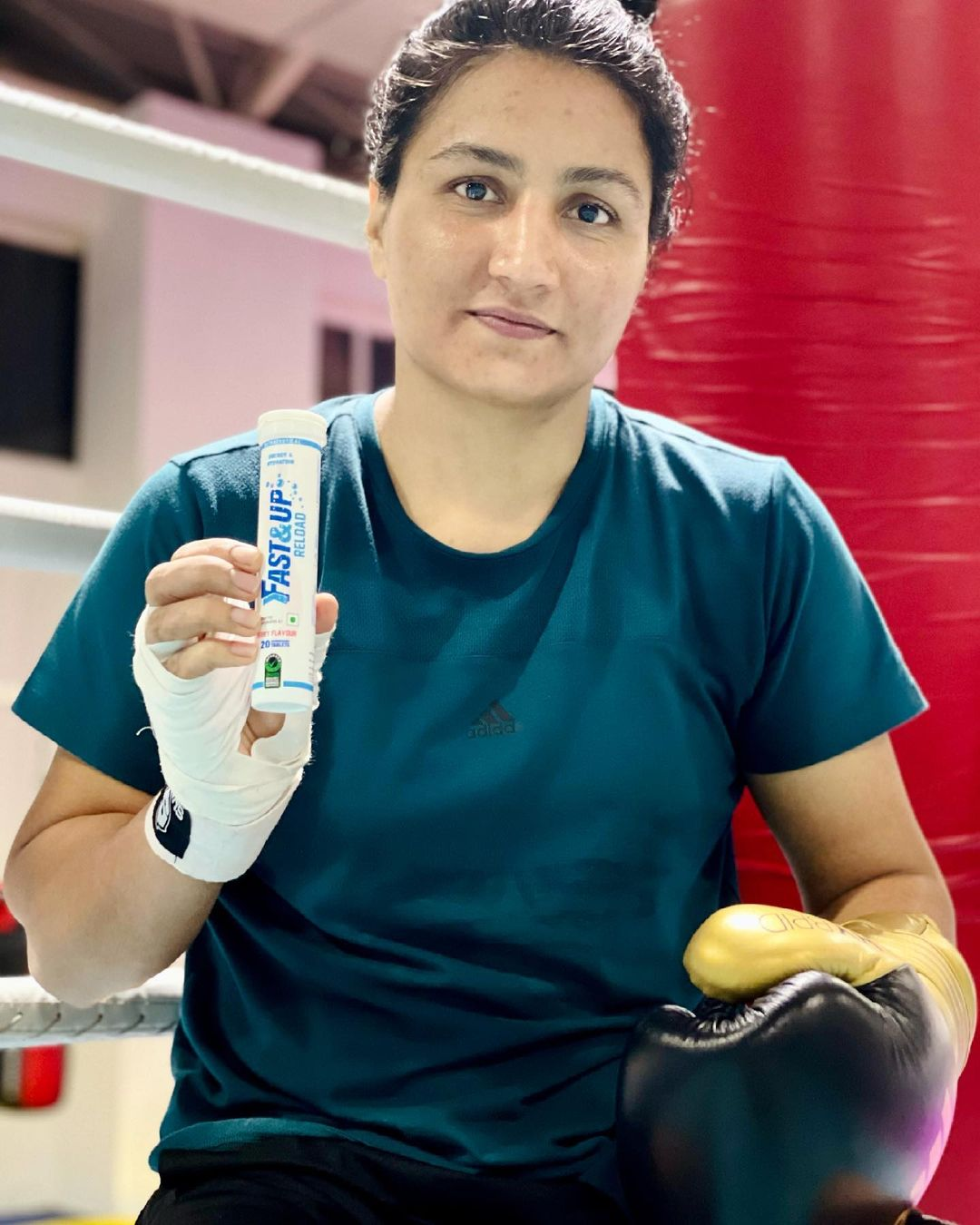 Pugilist Pooja Rani signs with sports nutrition brand Fast&Up