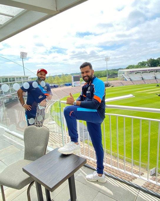 India cricket teams reach Southampton, starts quarentine