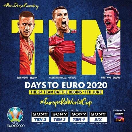 SPSN announce range of programming initiatives for Euro 2020, Copa America