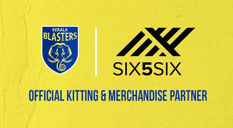 Kerala Blasters sign Six5Six as official kit & merchandise partner