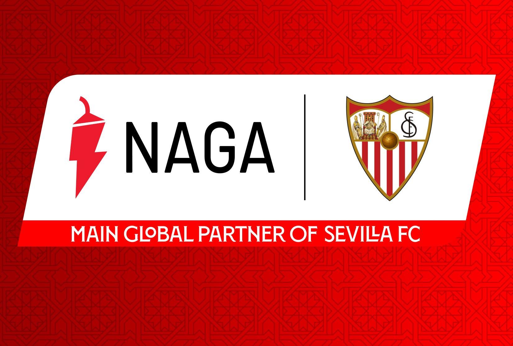 Naga & Sevilla FC join forces in a main global partnership