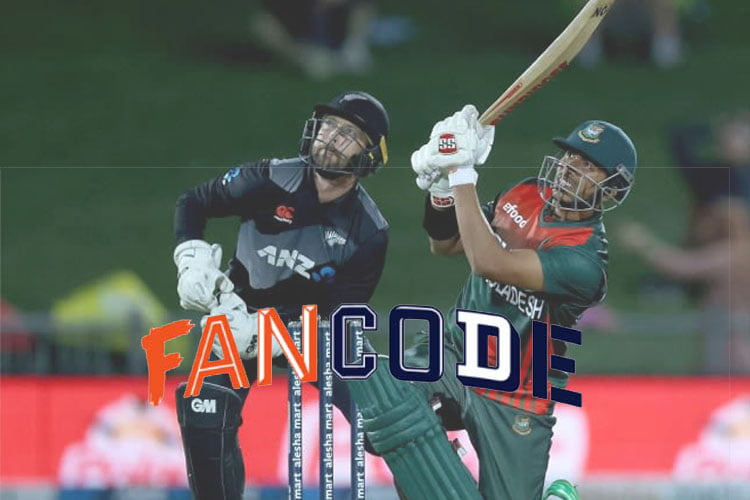 FanCode to exclusively live-stream Bangladesh-New Zealand series in India