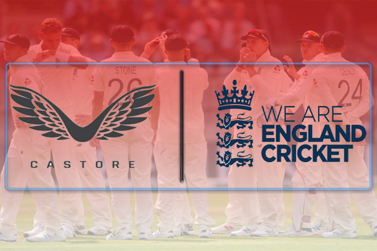 ECB signs Castore as official kit supplier of England cricket