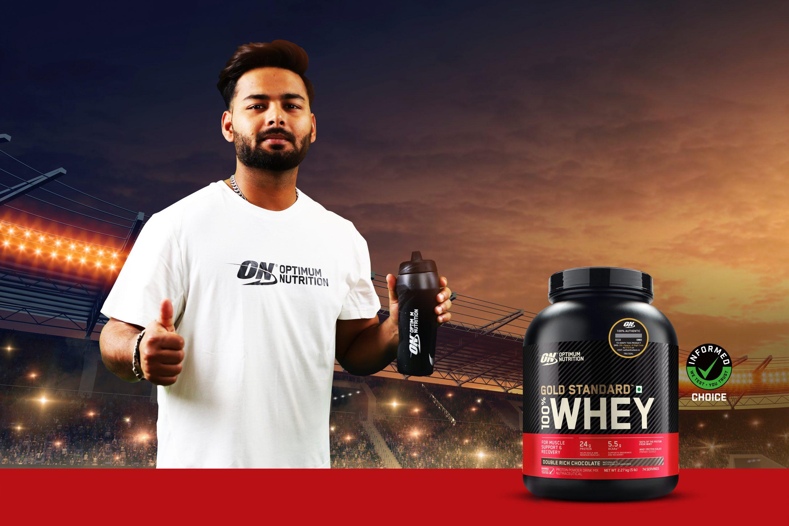 Optimum Nutrition names Rishabh Pant as their brand athlete