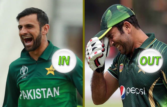 Shoaib Malik replaces injured Sohaib Maqsood in Pakistan squad for T20 Worlc Cup