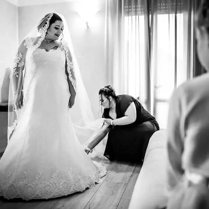 testimonianza di una sposa curvy