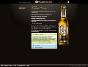 Warsteiner website 2