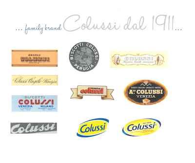 Colussi 100 - Evoluzione del logo 1911-2011