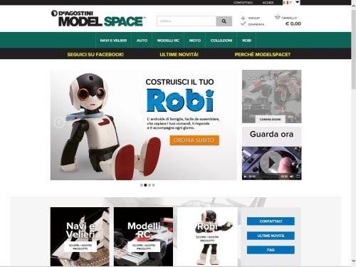 Model-space homepage