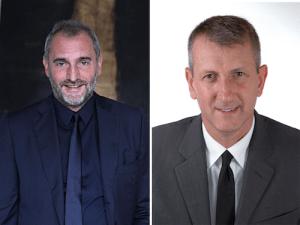 Copia di Da sinistra Corrado Masini_Direttore Generale Moschino e Lorenzo Panerai_Direttore Operativo Pollini