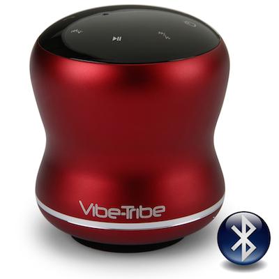 Mamba vibe-tribe bluetooth vibration resonance speaker ruby red 01