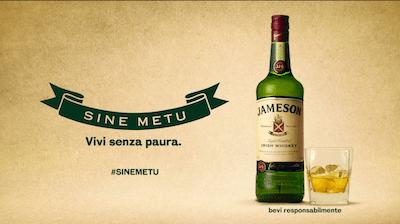 "Jameson Whiskey ""Sine Metu"""