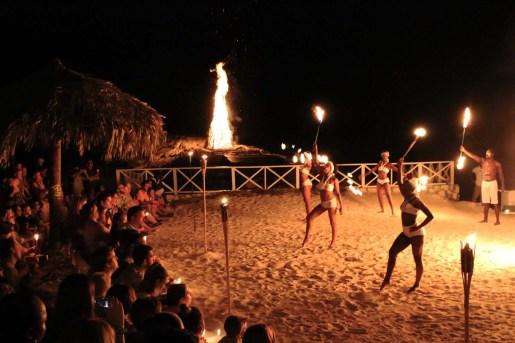 Un caratteristico spettacolo giamaicano
