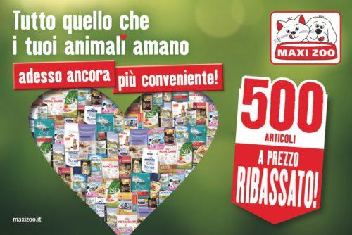 Maxi Zoo nuova campagna europea