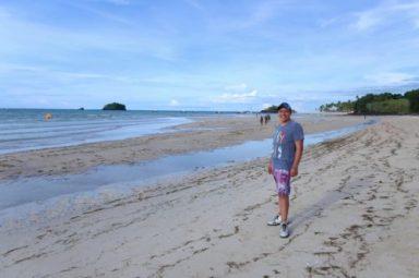 La spiaggia di Andilana, a Nord di Nosy Be
