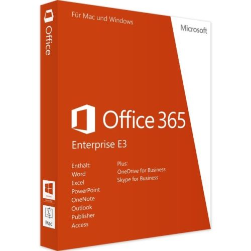 Microsoft Office 365 Enterprise E3 2019 Account for Mac and Windows