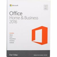 Microsoft Office Home and Business 2016 for 3 Mac-Lifetime + updates