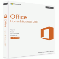 Microsoft Office Home and Business 2016 for Windows PCs- Product Key