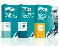 ESET NOD 32 Internet Security NOD32 Edition 2020 New1