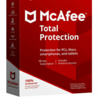 McAfee Total Protection 2020 Antivirus |1|5|10 Devices & 5 | 10 Years