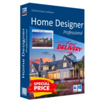Chief Architect Home Designer Pro 2020 | Lifetime License | Official Version
