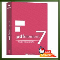 Wondershare PDF Element Professional 7.4.4 Windows DIGITAL DOWNLOAD