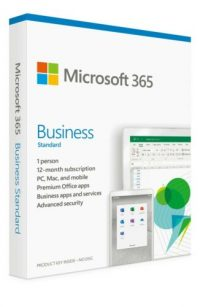 Microsoft Office 365 Business Standard 1 Year Subscription - 1 User