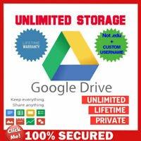 Unlimited Google Drive Storage