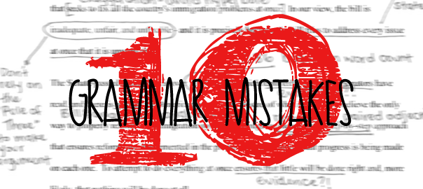 10 Grammar Mistakes