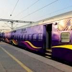 "Make In India, Mumbai's 1st ""Indian Made"" train."