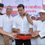 "Akshay Kumars teams up for an ""open defecation free"" India"