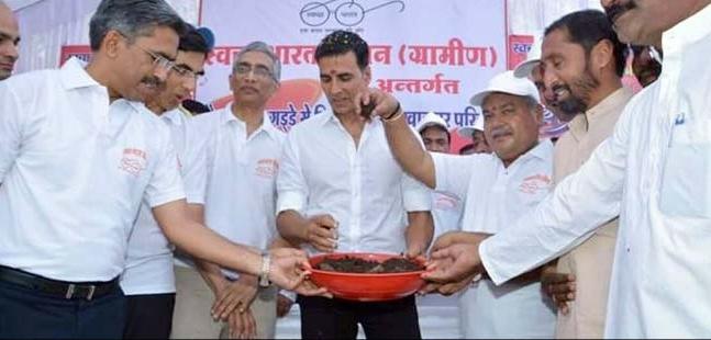 Swachh Bharat Abhiyan - Aksay Kumar