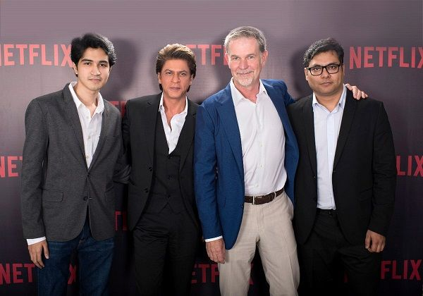 SRK and Netflix join forces