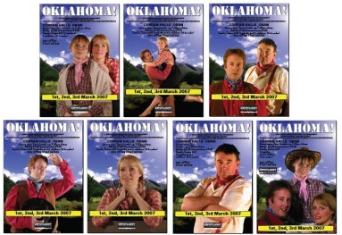 Oban Oklahoma Click here to download  the low resolution posters - suitable for printing at home but not for press/Advertising Work