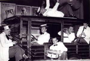 An early incarnation of Skip Parson's Riverboat Jazz Band. Submitted photo