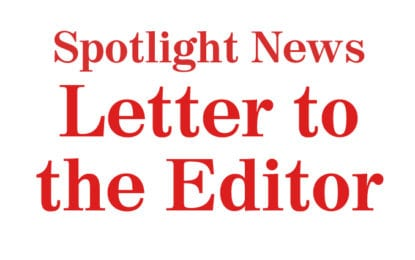 Letter to the EDITOR: The spirit of public comment