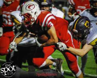 SPOTTED: Guilderland vs Ballston Spa football 092316