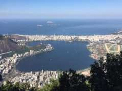 The view from the peak of Corcovado // Photo courtesy of Bob Trosset
