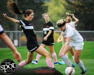 SPOTTED: Guilderland vs. Bethlehem girls soccer October 8, 2016 Photo by Rob Jonas/Spotlight