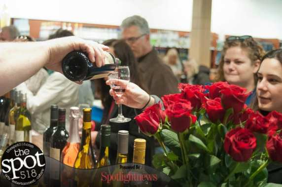 The Grand Opening of Upstate Wine in Delmar. Photo by Michael Hallisey