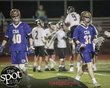 CBA at Burnt Hills Ballston Lake boys lacrosse on April 11.