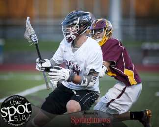 Colonie at Burnt Hills Ballston Lake boys lacrosse on May 3.