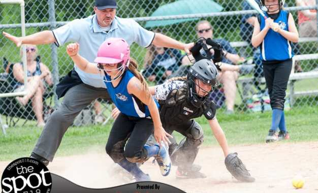 SPOTTED: Tomboys U10 tournament – Latham Blue Angels vs NC CHAOS