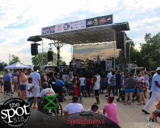 Rockin on the River, July 19, 2017 with Who's Bad: The Ultimate Michael Jackson Experience and Kristen Capolino (Photo by Amy Modesti)