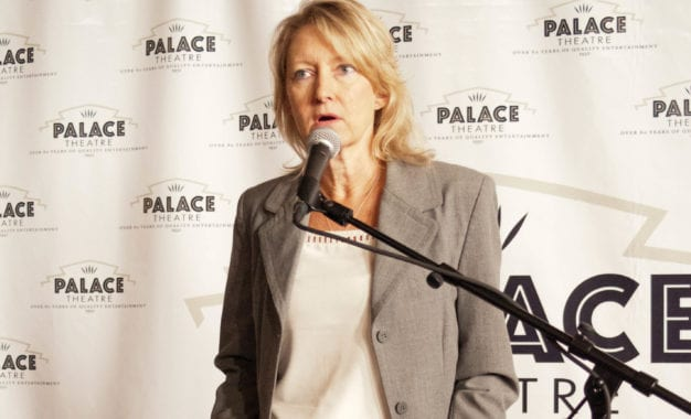 Holly Brown to step down as executive director of Palace Performing Arts