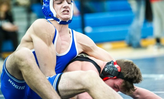 SPOTTED: The Section II, Class A wrestling tournament at Saratoga Springs