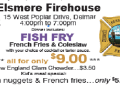 A Fish fry at Elsmere Fire