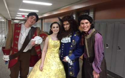 Ambitious BCHS' production of Disney's 1991 musical 'Beauty and the Beast' pays homage to tale's history